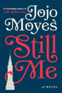 Cover of the book Still Me by Jojo Moyes, links to Amazon