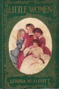 Cover of the book Little Women by Louisa M Alcott, links to Amazon