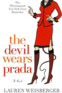 Cover of the book The Devil Wears Prada by Lauren Weisberger, links to Amazon