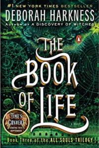 Cover of the book The Book of Life by Deborah Harkness, links to Amazon